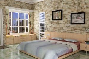 bedroom texture idea