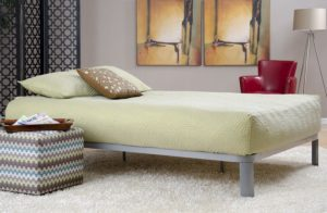 InStyle Furnishings Lunar Platform Bed
