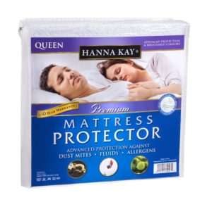 Hanna Kay Premium 100% Waterproof Mattress Protector