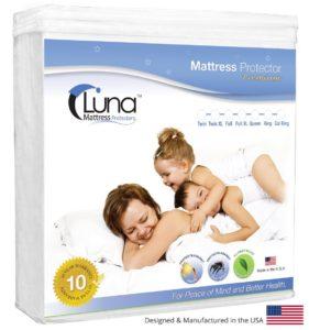Luna Premium Hypoallergenic Waterproof Mattress Protector