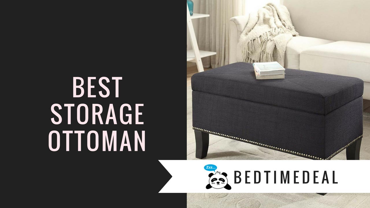 - Best Storage Ottoman Bench For Your Bedroom