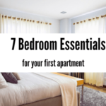 Bedroom Essentials for Your First Apartment